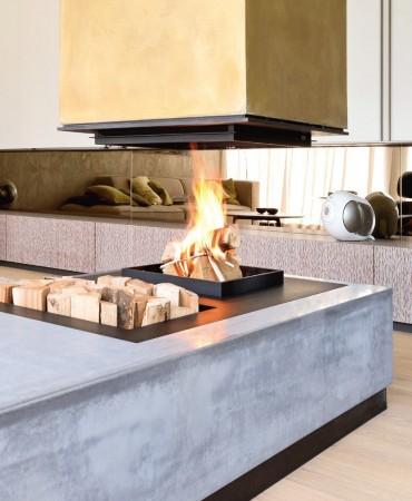Атмосфера огня с каминами Urfeuer